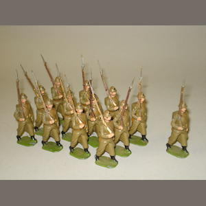 Britains from set 1389, Belgian Infantry 13