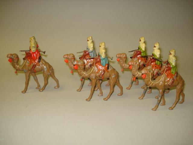 Britains set 193, Arabs on Camels 6