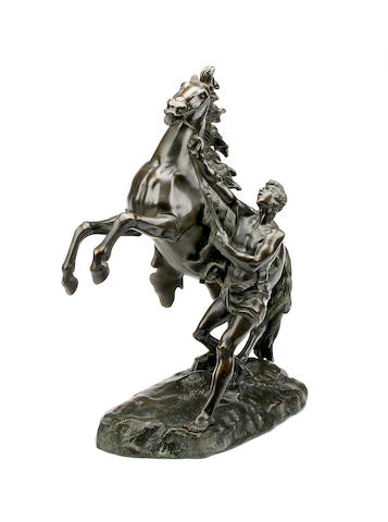 A cast bronze 'Marly horse'After Guillaume Coustou the Elder (1677-1746)