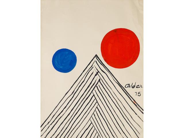Alexander Calder (American, 1898-1976) 'Uxmal', 1975