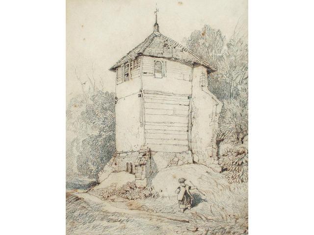 John Sell Cotman (British, 1782-1842) Kirkby Bedon Tower, Norfolk