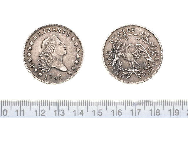 U.S.A., Half Dollar, 1795, 13.4g, Liberty bust right with LIBERTY above and date below, with Y in LI
