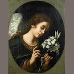 After Carlo Dolci, early 20th Century The Archangel Gabriel