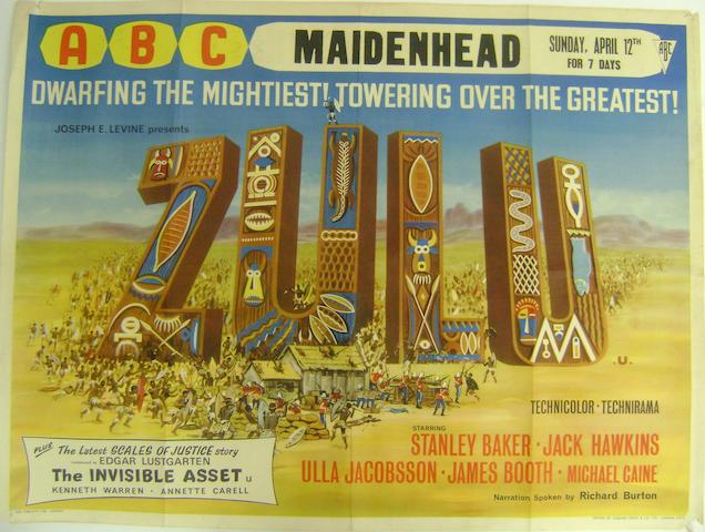 A collection of fourteen 1960's War related film posters, all being U.K. Quad or Double Crown size, titles including: 14