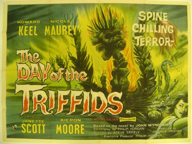 The Day Of The Triffids, J. Arthur Rank, 1962,