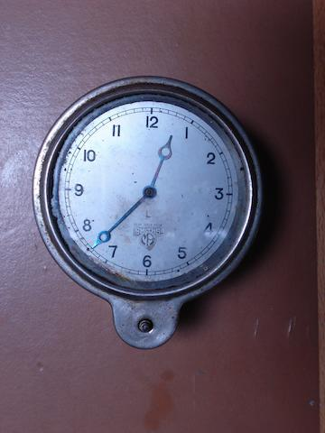A Smiths Motor Accessories L-type eight day car clock,