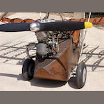 c.1935 Scott Flying Flea Light Aircraft  Engine no. A2S 5025