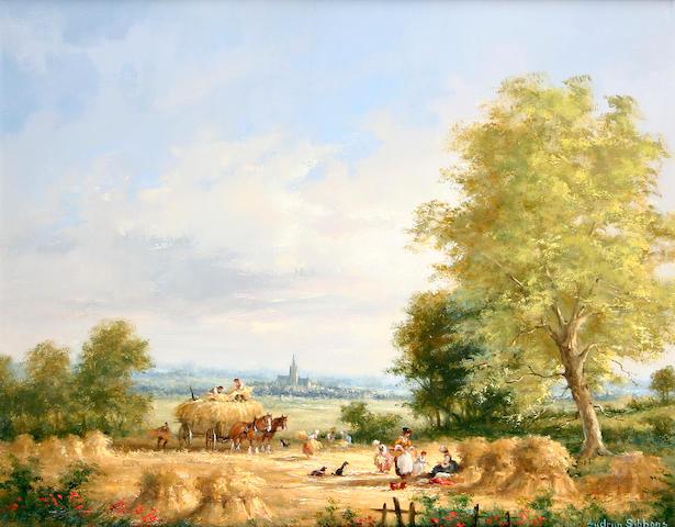 Gudrun Barbara Sibbons (German, born 1925) 'Harvest Time',