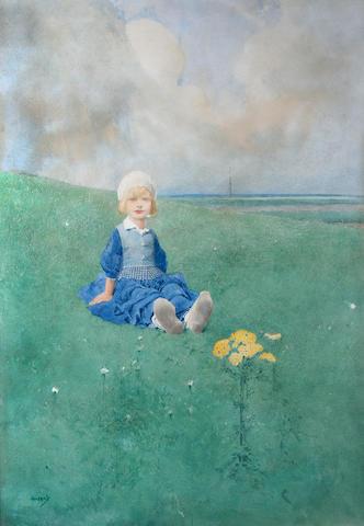 John Hassall (British, 1868-1948) 'Ragwort',
