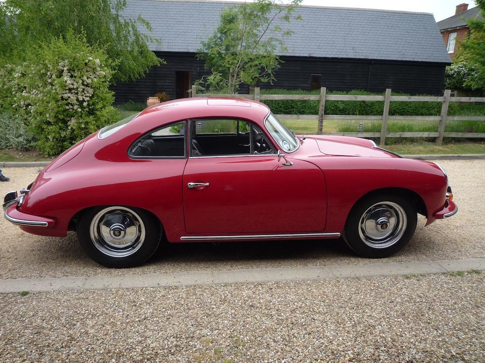 1959 Porsche 356B 1600 Sunroof Coupé  Chassis no. 109800 Engine no. 602699