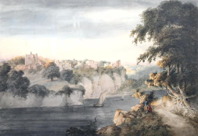 "Benjamin Barker of Bath (1776-1838 Tolness) ""Chepstow Castle"","