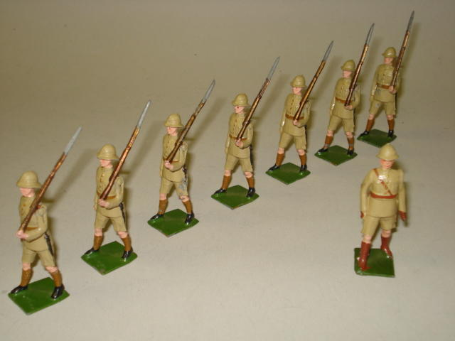 Britains set 1294, British Infantry in Tropical Dress 8
