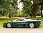 c.1992 Jaguar XJ220 Coupé  Chassis no. SAJJEAEXBAX220789 Engine no. GA10294SB
