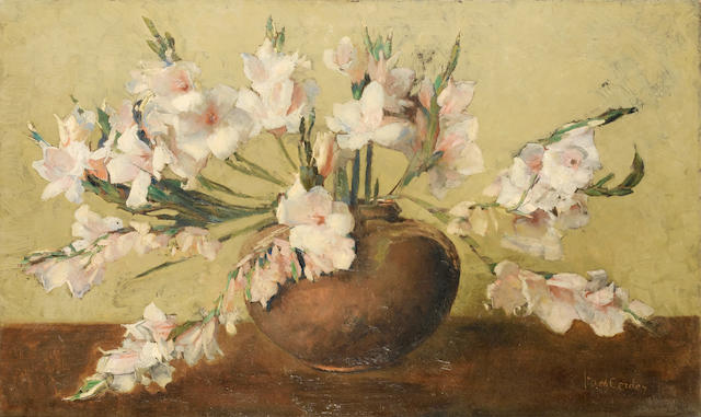 Frans David Oerder (Dutch, 1867-1944) Still life of gladioli