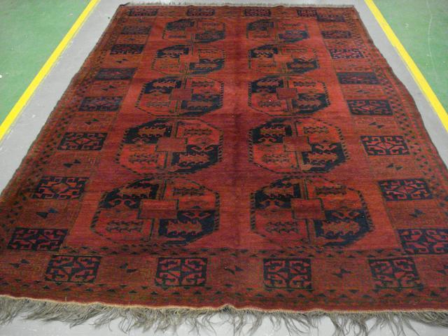 An Ersari carpet West Turkestan, 277cm x 185cm West Turkestan 277cm x 185cm