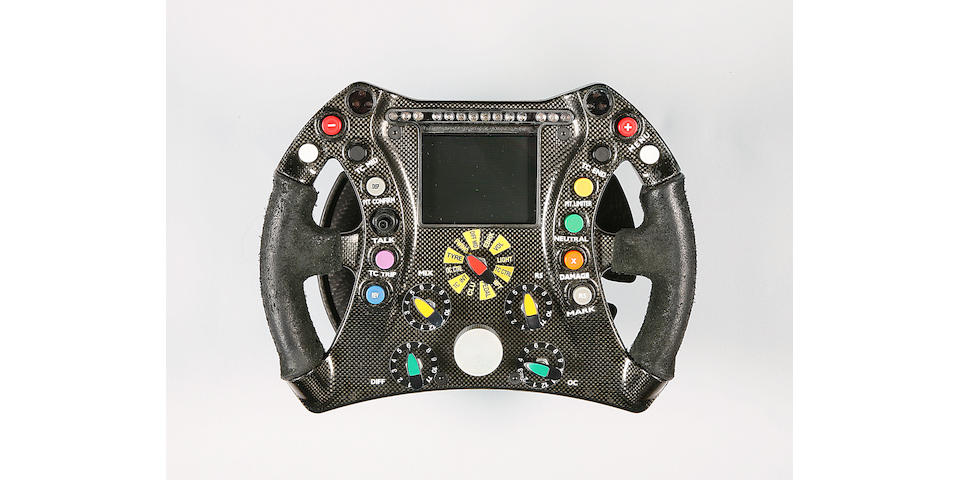 A Honda F1 Racing steering wheel, 2007,