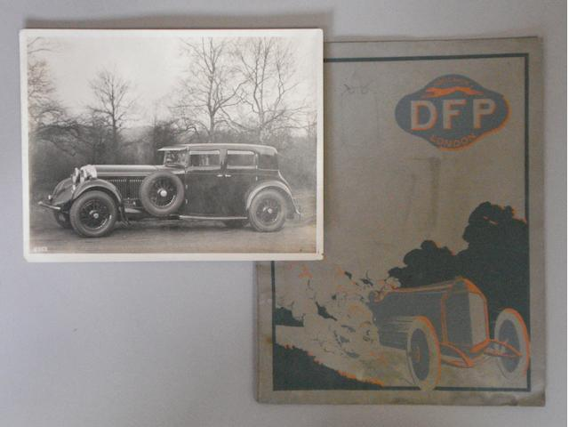 An original Bentley Motors Limited photograph,