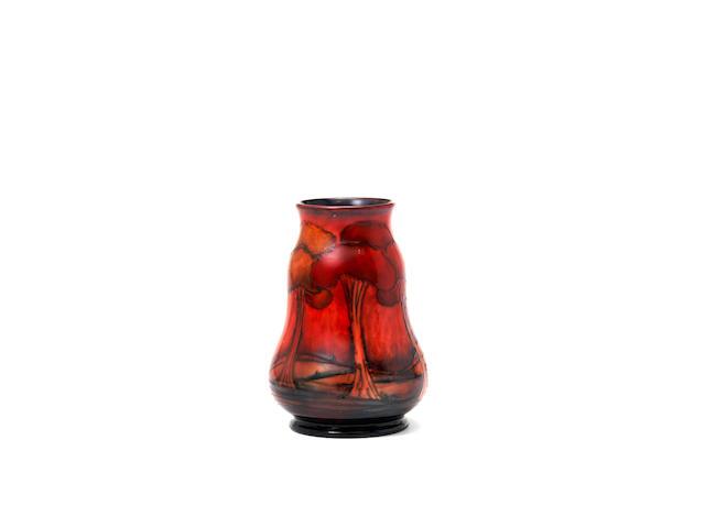 Moorcroft Flambe Landscape vase