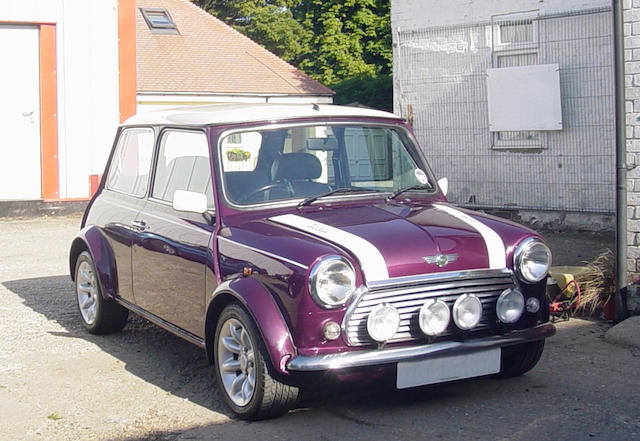 1999 Rover Mini Cooper 'Sports Pack' Saloon, Chassis no. SAXXNNAZEXD173230 Engine no. 12A2LK70383096