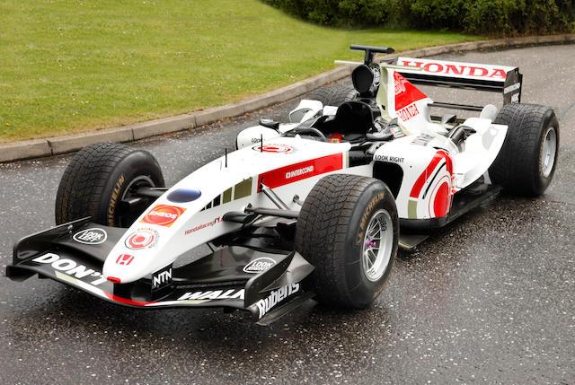 2004 BAR Honda,