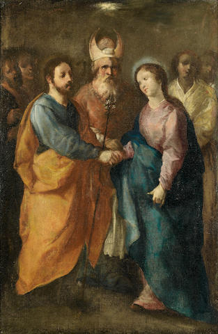 Spanish School, 18th Century The Presentation in the Temple; and The Marriage of the Virgin (2)