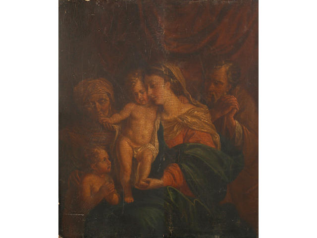 Manner of Pompeo Girolamo Batoni, 19th Century The Holy Family