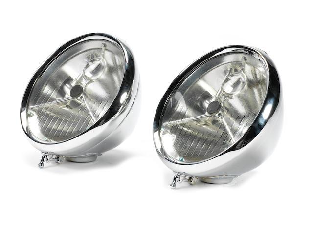 P100 DB 'bullseye' headlamps,