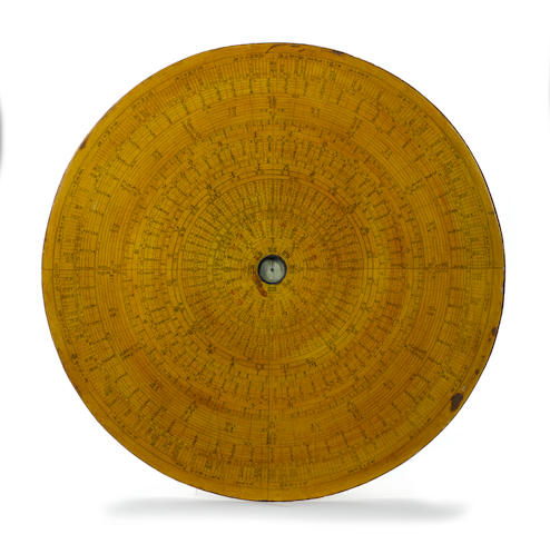 An exceptionally large Chinese compass, late 19th century,