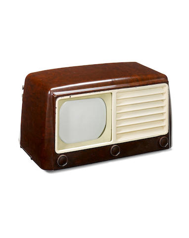 A GEC type BT1091B table model television, 1949,