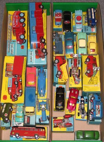 Corgi various boxed vehicles 27