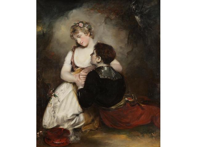 Sir John Watson Gordon, R.A. (British, 1788-1864) The Embrace