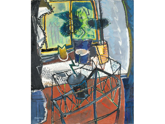 Patrick Heron, La Jardiniere, oil on canvas
