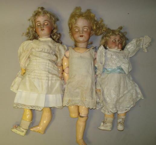 DEP bisque head doll 3