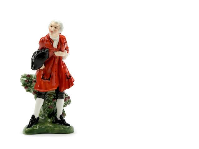 Figurines A Royal Doulton figure 'Masquerade'
