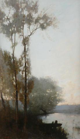 "Robert Noble, RSA PSSA (British, 1857-1917) ""Evening"""