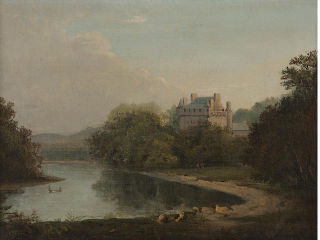 Circle of Alexander Nasmyth (Edinburgh 1758-1840) Melville Castle