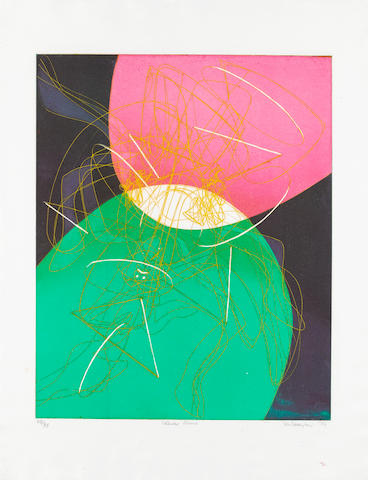 Stanley William Hayter (British, 1901-1989) Chinese Circus Soft ground etching and engraving, 1976,