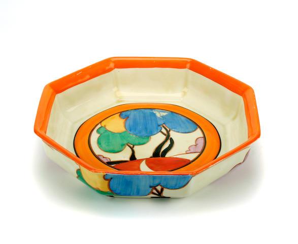 A Clarice Cliff Fantasque Bizarre bowl
