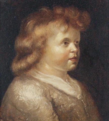 Follower of Jacob Adriaensz. Backer (Harlingen 1608-1651 Amsterdam) Portrait of a child,