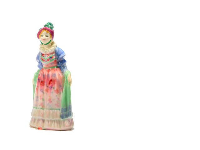 Figurines A Doulton miniature figure Norma