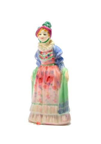 Figurines A Doulton miniature figure Norma