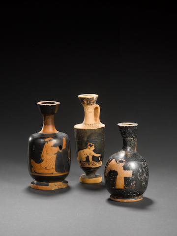 Three Attic red-figure lekythoi 3