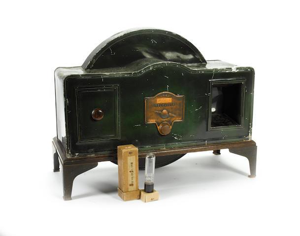 A rare Baird Televisor,  by the Plessey Company, circa 1930,