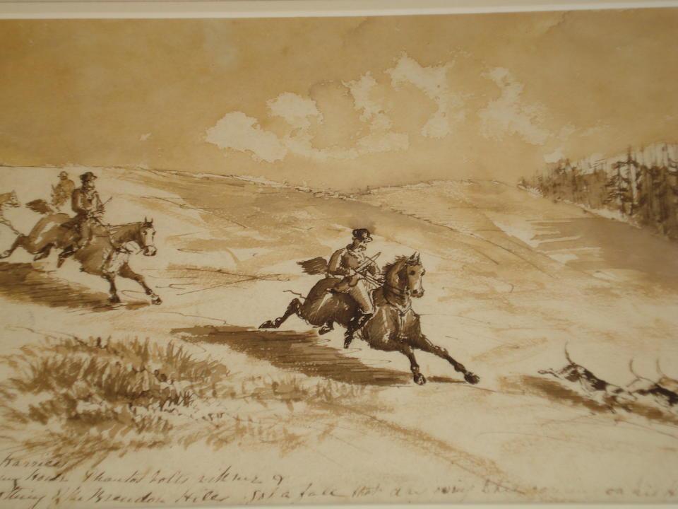 George Denholm Armour (British, 1864-1949) 21 x 27cm (approx.)