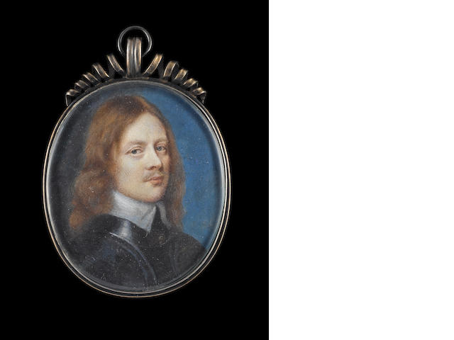 Samuel Cooper (British, 1609-1672) James Butler, 12th Earl and 1st Duke of Ormonde (1610-1688), wearing armour and small white collar, his natural hair worn long