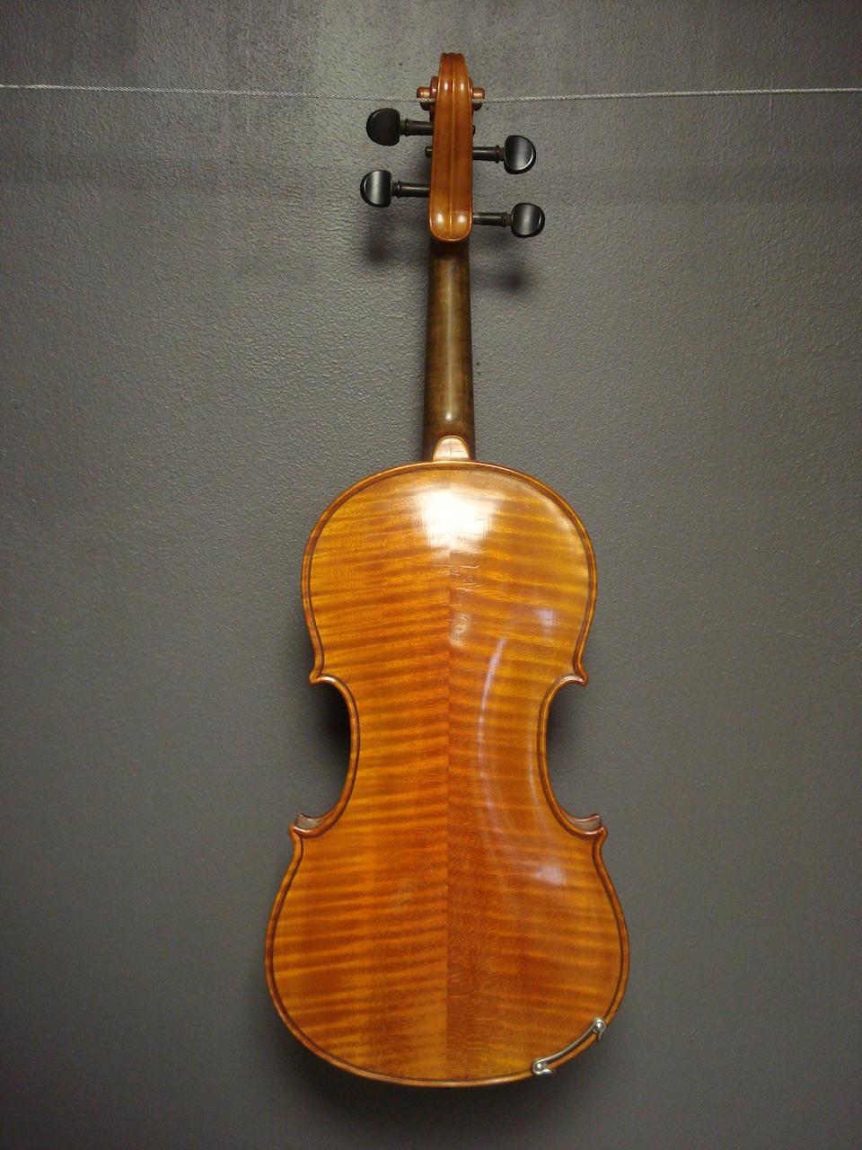 A Swedish Violin by Gustaf Ekstrand, 1932 (2)