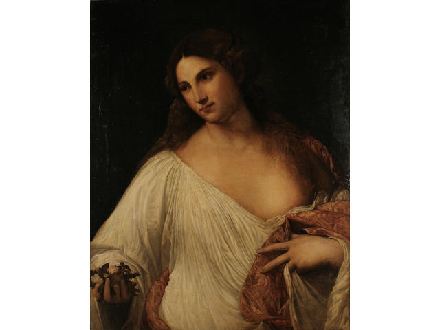 After Tiziano Vecellio, called Titian, 19th/20th Century Flora