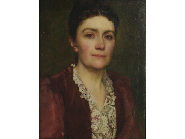 20th Century School  Portrait of a lady