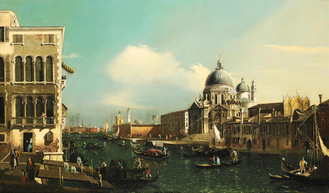 Manner of William James, 20th Century The Grand Canal, Venice,