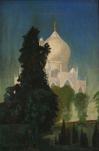 Emil Dyrberg-Petersen (Danish, born 1908) The Taj Mahal